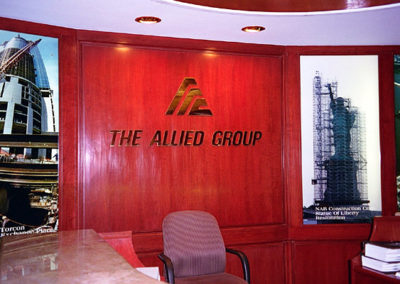 Mirror Polished Solid Brass Corporate Brand Logo & Logo Type Letters.